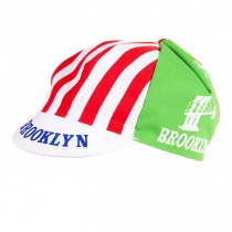 Brooklyn Retro Stripes Radfahren Kappen