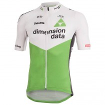 2018 Dimension Data Weiß Radteamtrikot Kurzarm