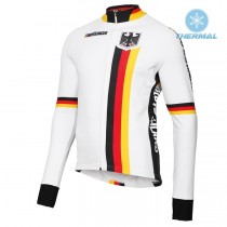 2019 Germany Country Mannschaft Thermo Langarm Radtrikot